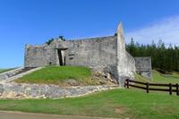 Penal colony ruins at Kingston